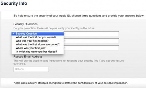 Apple Increases iTunes Store, App Store Security – New Measures Rolling Out | From the Apple Orchard | Scoop.it