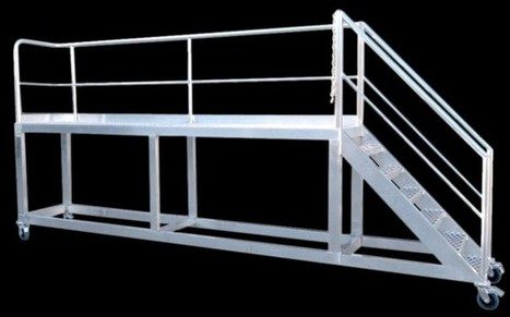Truck Access Loading Platforms | Truck Access Platform, Ladder Platform & Aluminium Platforms | Scoop.it