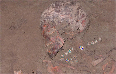 Ancient Egyptian necklace found on the skeleton of a 'virgin priestess' in Siberian burial mound | Archeology on the Net | Scoop.it