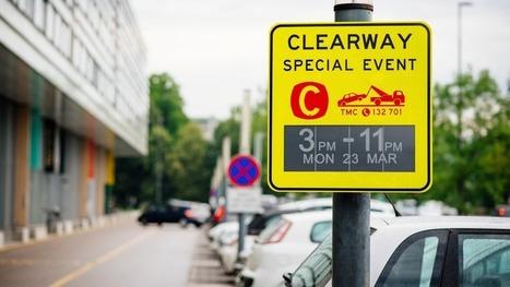 'World first' electronic ink traffic signs trialled in Australia | e-paper - e-ink - le papier électronique - écran flexible | Scoop.it