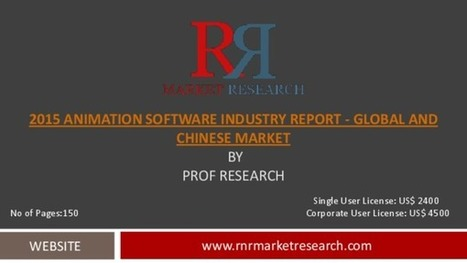 Animation Software Industry for Global and Chinese Markets Forecast to 2020 | Market Research Reports | Scoop.it