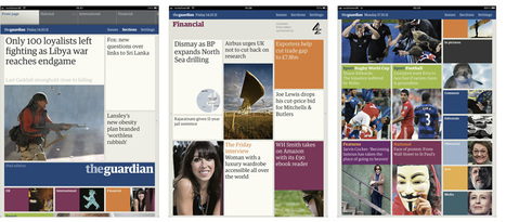 The Guardian iPad App | The Ministry of Type | iPad:  mobile Living, Learning, Lurking, Working, Writing, Reading ... | Scoop.it