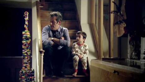 Lego's new father and kid ad is simply adorable   Lego is not a game... not only   Scoop.it