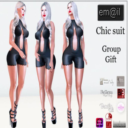 nessmarket: (via Chic Suit Group Gift -... - BCM! | 亗 Second Life Freebies Addiction & More 亗 | Scoop.it