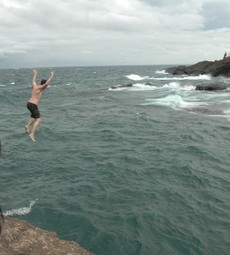 The unspoken tradition: cliff jumping at Marquette's Blackrocks | Great Lakes Echo | Northern Michigan Delights | Scoop.it