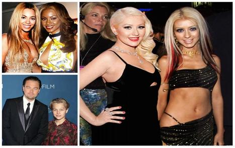 7 Photos Of Celebs Standing Next To Their Younger Version Are So Cool | Just For Fun | Scoop.it