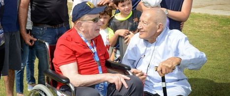 WWII Vet Reunites With Man He Saved From Concentration Camp   World at War   Scoop.it