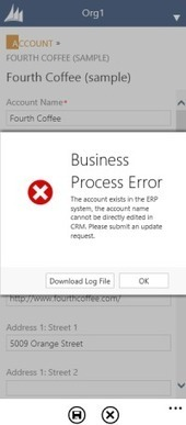 Using CRM 2013 Real-time Workflows To Show Error Messages | Microsoft Dynamics CRM 2013 | Scoop.it