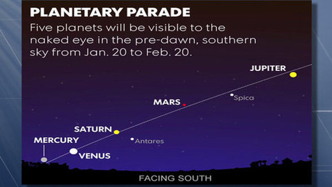 Skywatchers to get special treat -- five planets and a comet | Share Some Love Today | Scoop.it