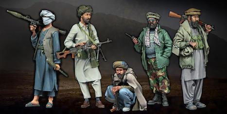 "Stalingrad Miniatures - Afghan Rebels ""Big Set"" - 1/35 | Military Miniatures H.Q. | Scoop.it"