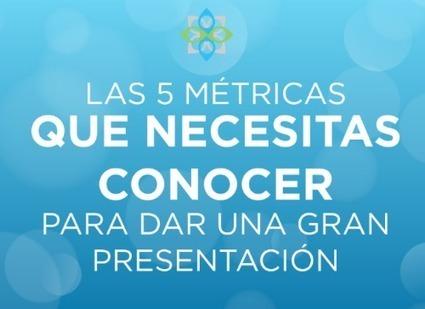 Las 5 métricas que necesitas conocer para dar una gran presentación | Educación 2.0 | Scoop.it