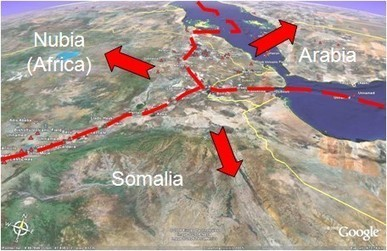 Geology of Red Sea and Gulf of Aden (non-technical) | 8th Grade Earth Science | Scoop.it