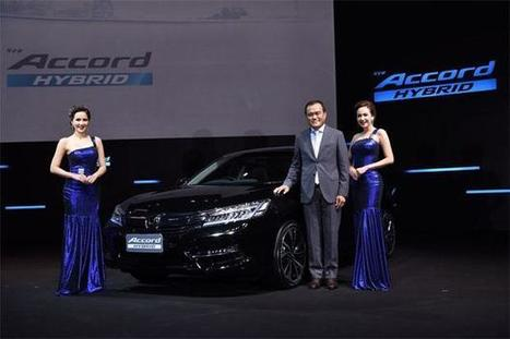 New Honda Accord Hybrid with 120kph max speed in EV | Discover Sigalon Valley - Where the Tags are the Topics | Scoop.it