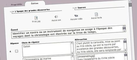Netquiz Pro, un créateur d'exercices à publier sur un ordinateur ou sur le web | L'e-école | Scoop.it