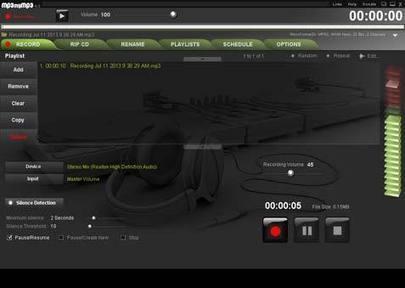 MP3 My MP3 Recorder - Grabar y convertir archivos de audio | Educacion, ecologia y TIC | Scoop.it
