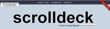16 jQuery Plugins & Tutorials For Building Single-Page Websites | Animación, videojuegos, tutoriales | Scoop.it
