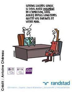 Randstad: des caricatures en faveur de l'égalité homme-femme au travail   COURRIER CADRES.COM   Filles, garçons égalités ?   Scoop.it