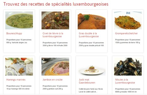 Spécialités locales et recettes - Visit Luxembourg | Europe | Eating Culture | Luxembourg (Europe) | Scoop.it