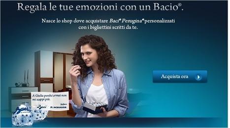 A San Valentino un e-commerce con i Baci. Perugina. | News pubblicità | Scoop.it