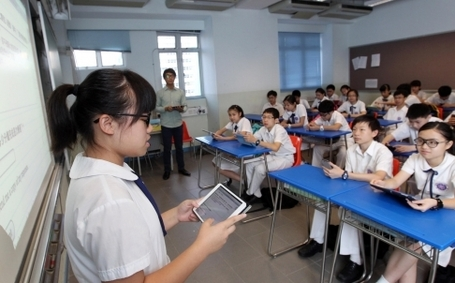 Tablets help Hong Kong students learn | Studying Teaching and Learning | Scoop.it