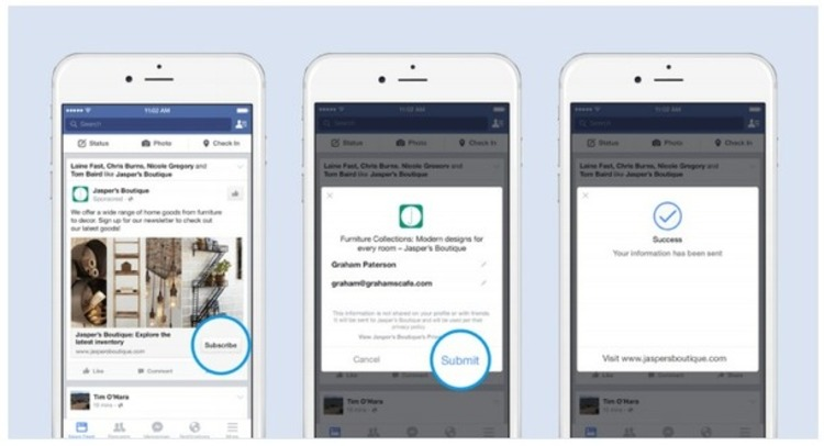 Facebook now lets advertisers send leads to Salesforce, Marketo, and other CRMs - VentureBeat | The Marketing Technology Alert | Scoop.it