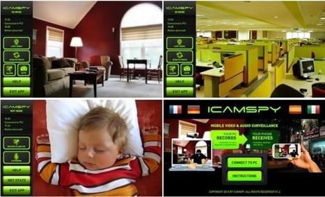 iCamSpy : la vidéosurveillance gratuite ! | fleur le vent | Scoop.it