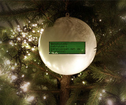 The Tweetball: A Christmas Ornament Ball that shows your friends' twitter wishes | Make a smarter web using APIs | Scoop.it