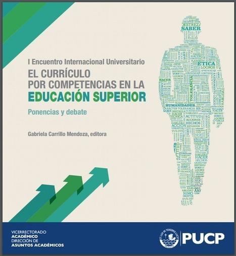 Libro: El Currículo por Competencias en la Educación Superior – RedDOLAC - Red de Docentes de América Latina y del Caribe -   HERRAMIENTAS TIC´S EN EDUCACIÓN   Scoop.it