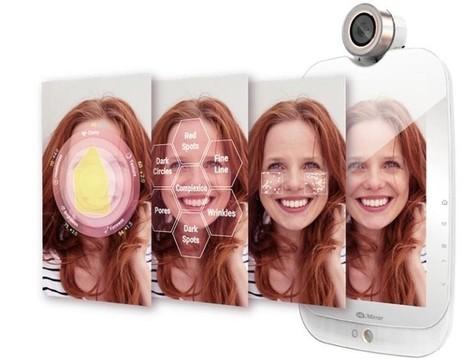Nuevo espejo inteligente analiza la calidad de la piel y ofrece tratamientos para su mejora   Bits on   Scoop.it