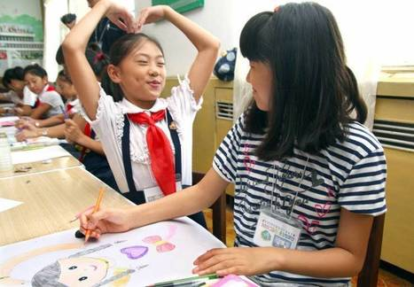 Kids take artful approach to peace-building - The Japan Times | Conflict transformation, peacebuilding and security | Scoop.it