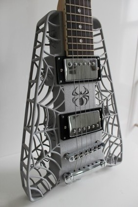 3D Printed Guitars Rock | 3D printing and touch-free motion control are the wave of the future for manufacturing. | Scoop.it