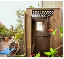 The Outdoor Stylist workshop | Beyond the improved outdoor shower | Naturally Modern | Scoop.it