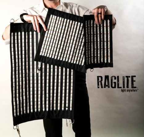 Meet the RagLite, a Light You Can Roll Up, Beat Up, & Hang Up Anywhere | Backpack Filmmaker | Scoop.it