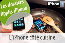 Un dossier applis iPhone gourmand avec 15 apps de recettes de cuisine sur iPhone | horeca | Scoop.it