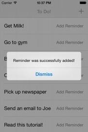 Cookbook: Making a Calendar Reminder - Ray Wenderlich   iOS, Xcode & more   Scoop.it