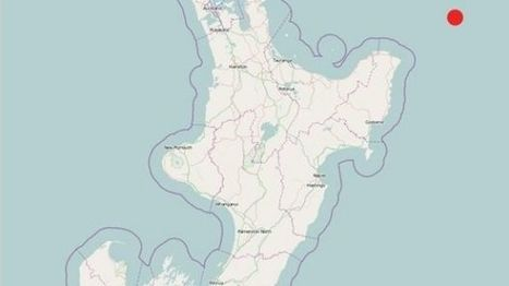 Major earthquake hits off coast of New Zealand, shaking North Island | Daily News Reads | Scoop.it