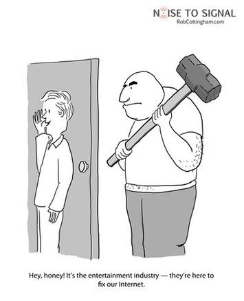 Cartoon: #SOPA opera | Machinimania | Scoop.it