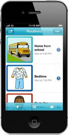 Routinely - Easy and Fun Visual Schedules | Communication and Autism | Scoop.it