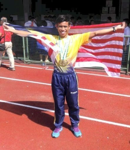 18 year old Badrul Manap 10.29 ASG & Malaysia 100M Record - Pinoyathletics.info | World Athletics Track and Field | Scoop.it