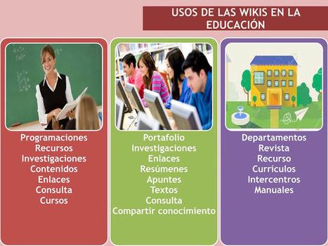 El trabajo con Wikis en el ámbito educativo y en el ámbito laboral. | EduTIC | Scoop.it