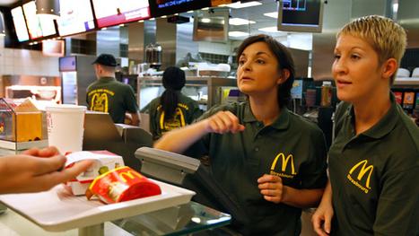 McDonald's company help line to broke worker: 'Go on food stamps ... | Culture | Scoop.it