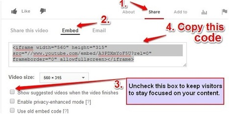 3 ways to Embed YouTube Video in WordPress Post | YouTube Tips and Tutorials | Scoop.it