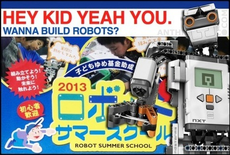 Kids Making Robots: An NPO Steps Up to Bolster Japan's Rural Robot Resurgence | anthrobotic.com | Scoop.it