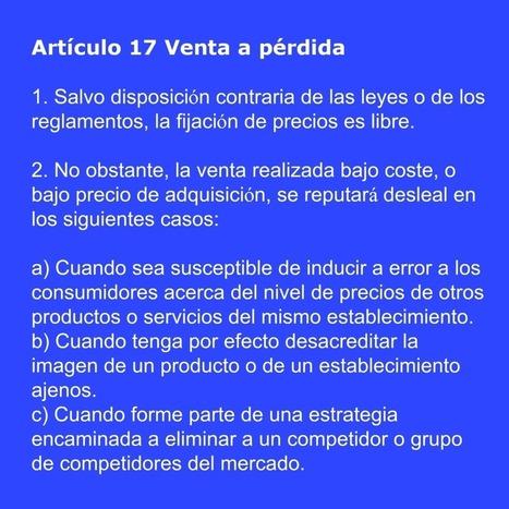 ¿Cuándo la venta a pérdida es competencia desleal? | BURGUERA ABOGADOS | www.BurgueraAbogados.com | Scoop.it