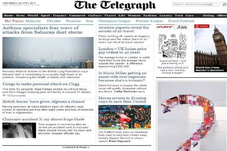 Drones key as Telegraph lays out its tech strategy | Drones | Scoop.it
