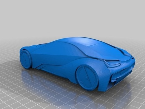 bmw i8 by aaronR - Thingiverse | Killer Design | Scoop.it