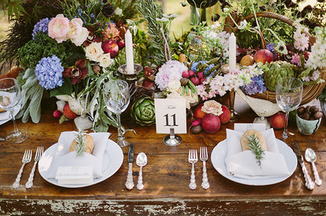 Southern Farm-to-Table Wedding Inspiration - Green Wedding Shoes | Weddings & Events | Scoop.it