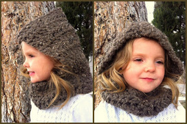 Design Adventures: Hooded Cowl | Needle and Hook Patterns-all free | Scoop.it