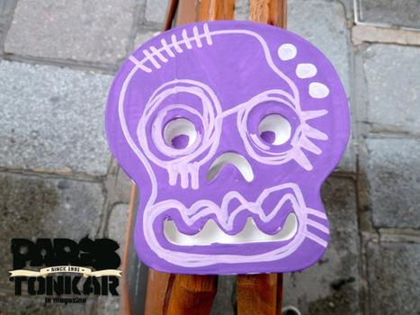 Collage Skull // Paris,2012 | The art of Tarek | Scoop.it