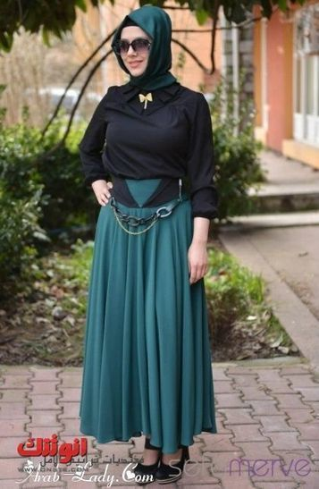 احدث أزياء محجبات، ملابس محجبات تركية ، لبس محجبات تركي | لفات طرح | Scoop.it